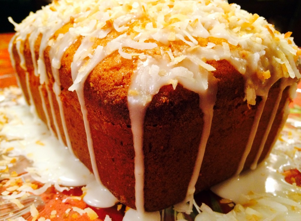 Toasted Coconut Buttermilk Poundcake