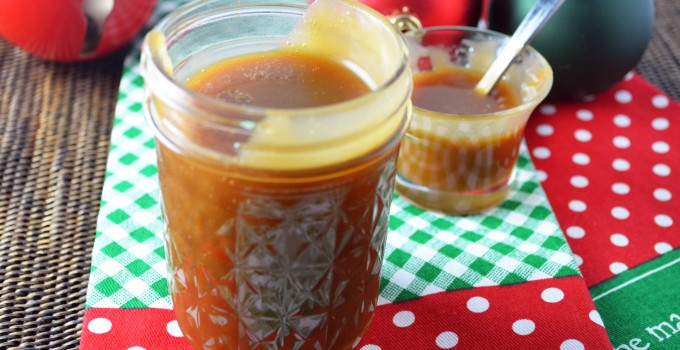Quick and Easy Caramel Sauce