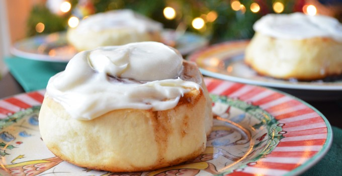 Glazed Buttermilk Cinnamon Rolls