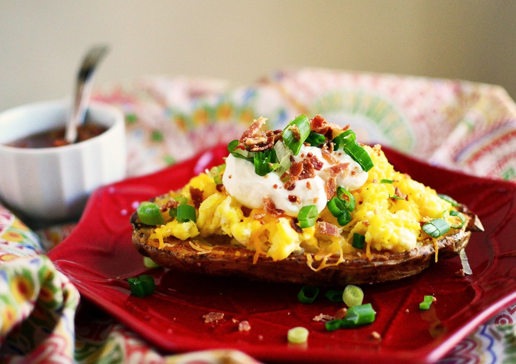 Breakfast Potato Skins
