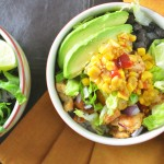 Fresh Mex Bowl with Honey-Lime Dressing