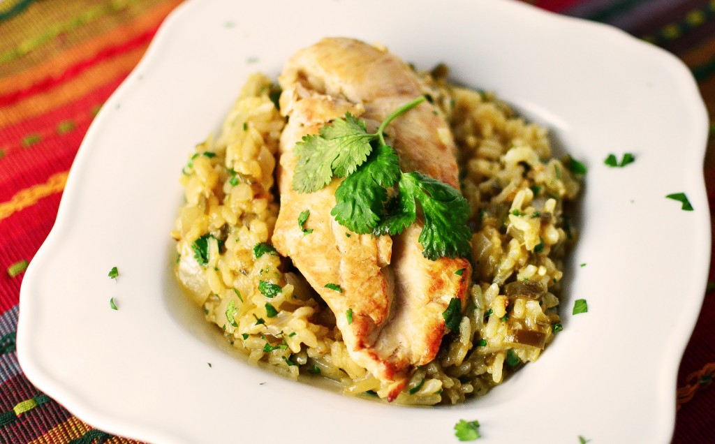 Chicken and Mexican Rice 2