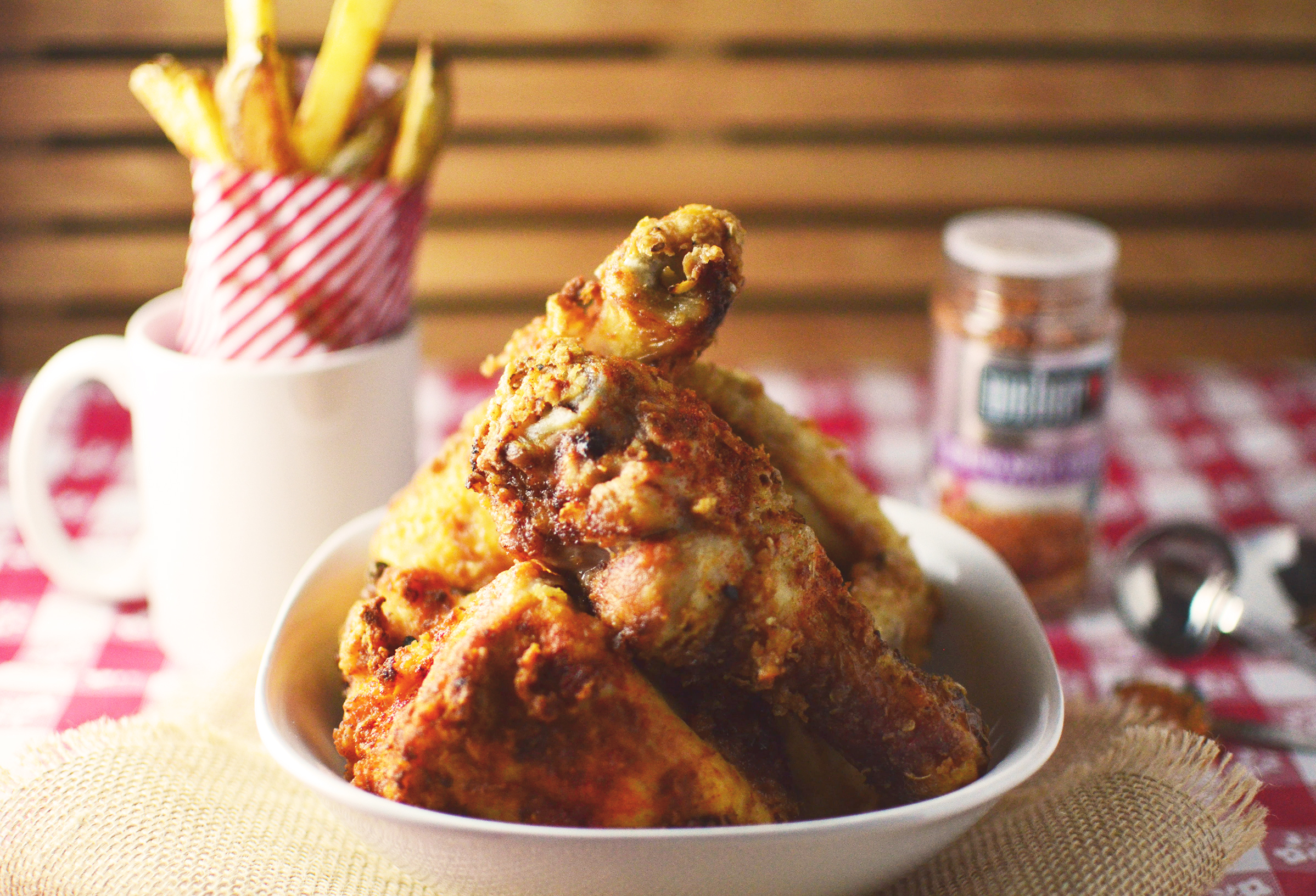 Oven-Fried Chipotle Chicken Fingers Recipe — Dishmaps