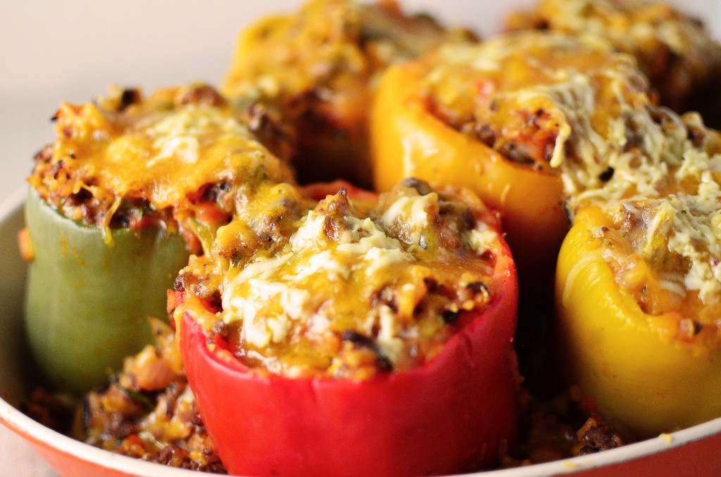 Stuffed Peppers - Simple, Sweet & Savory