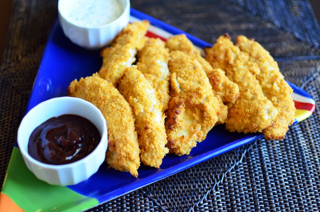 Cheez It Crusted Chicken Tenders