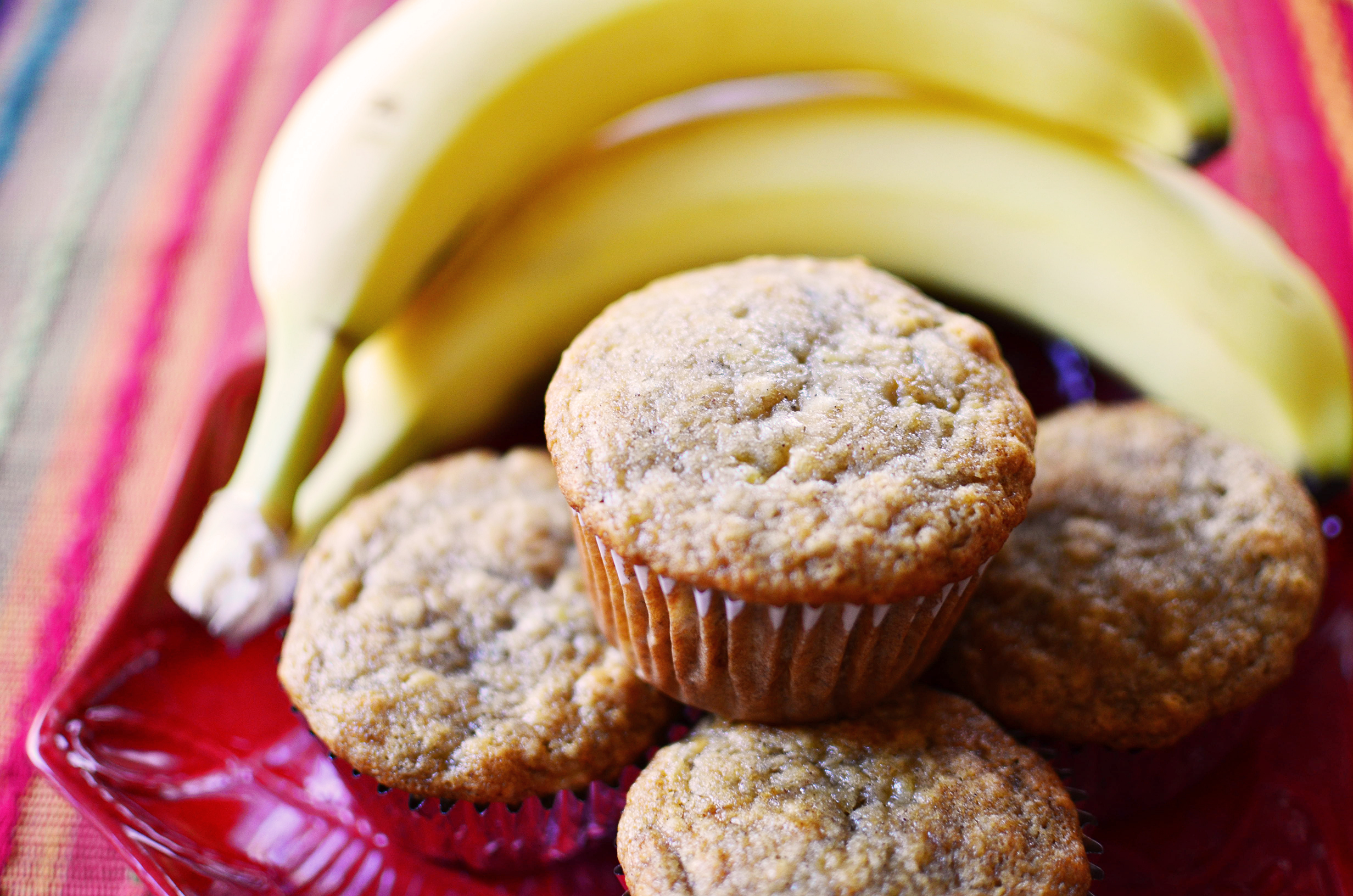 Easy And Moist Banana Muffins Simple Sweet Savory