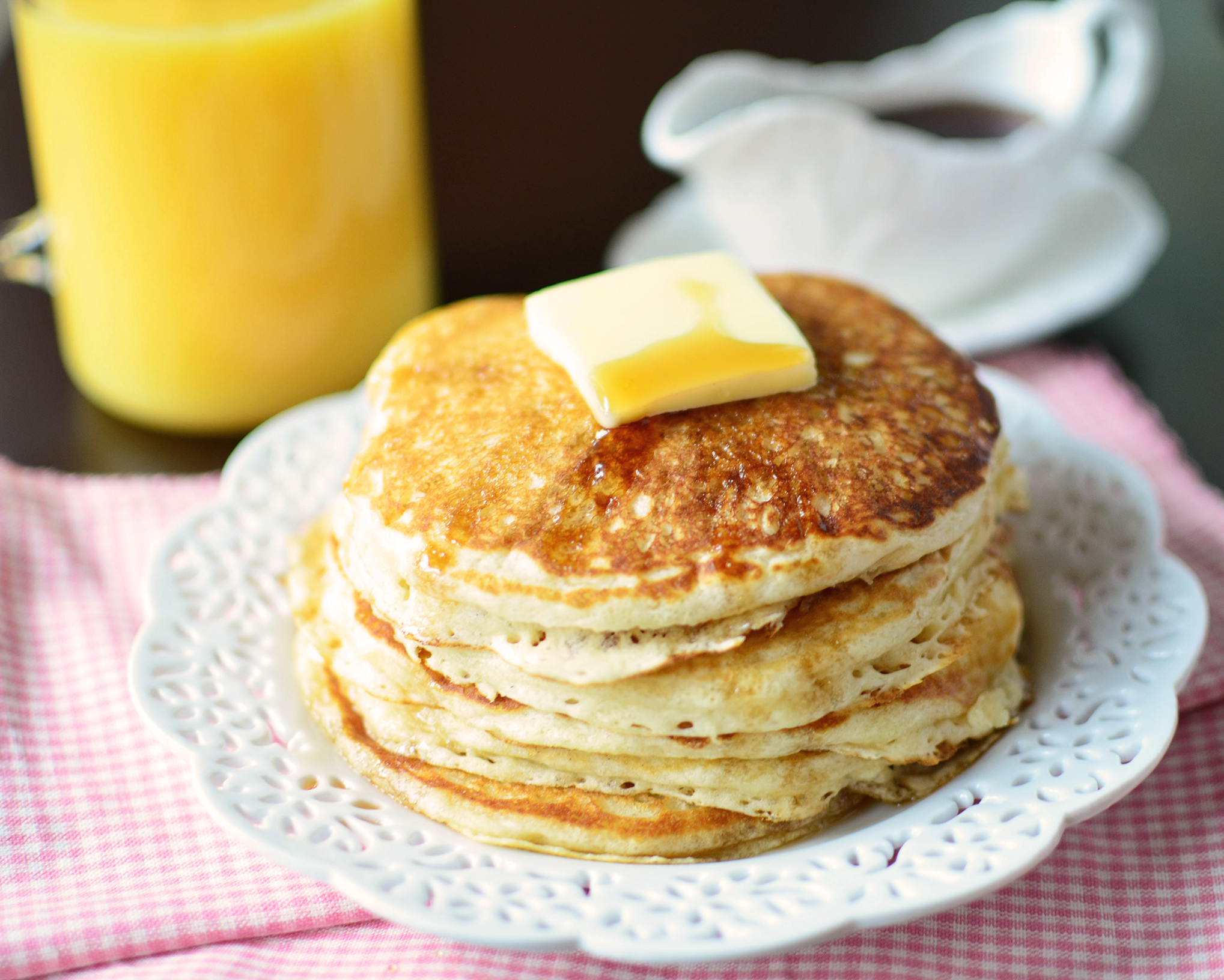 recipe: savory buttermilk pancakes [1]