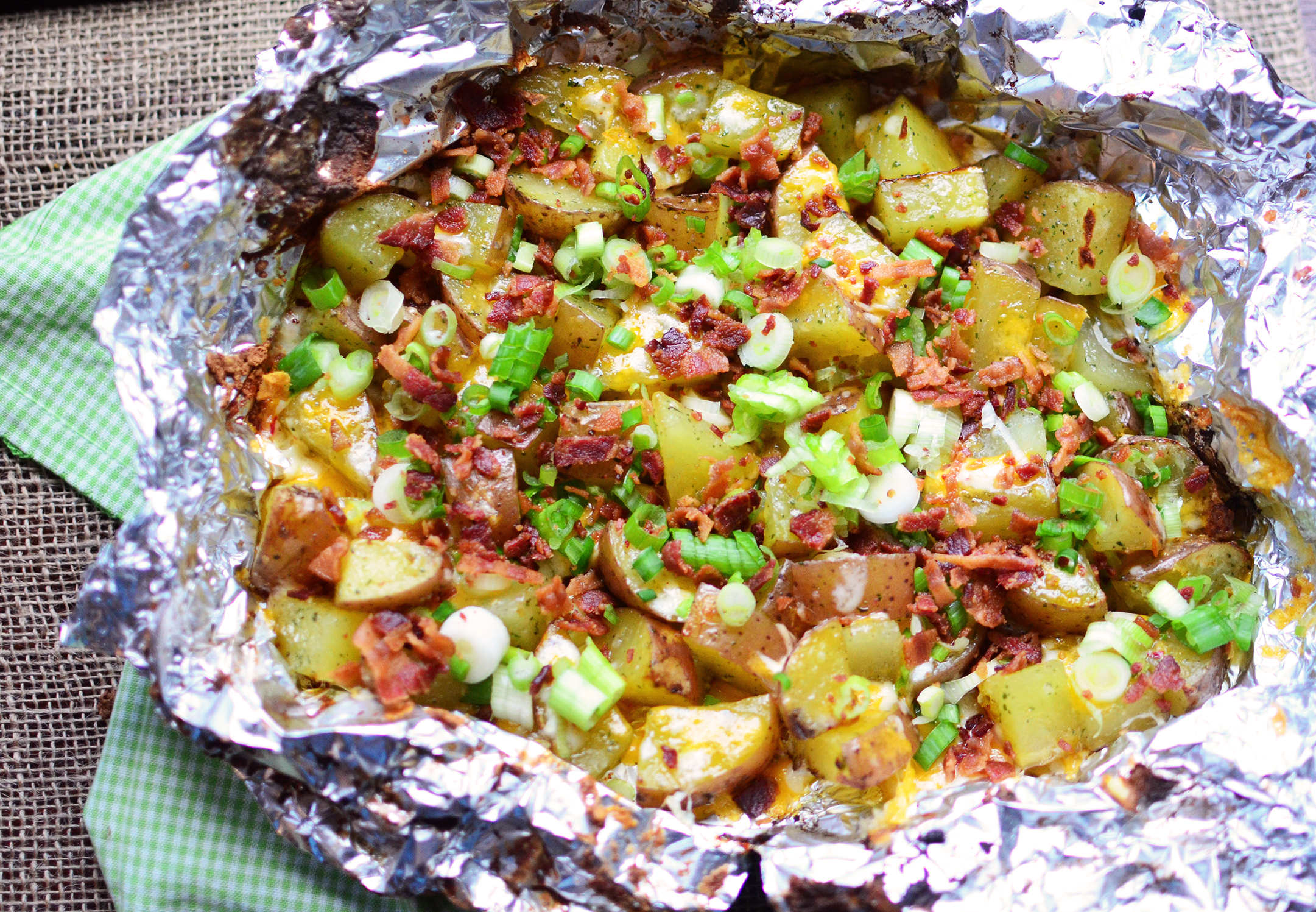 Recipes potatoes on the grill