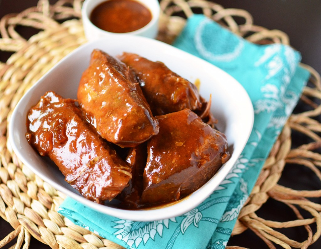 Slow Cooker BBQ Boneless Pork Ribs