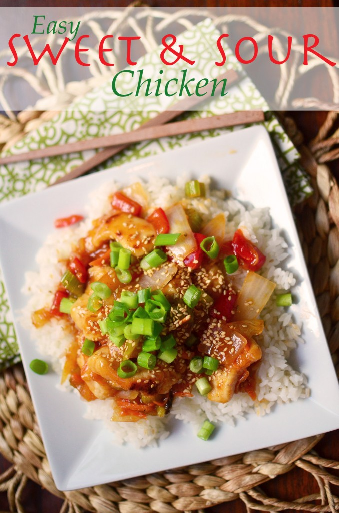 Sweet and Sour Chicken tall text