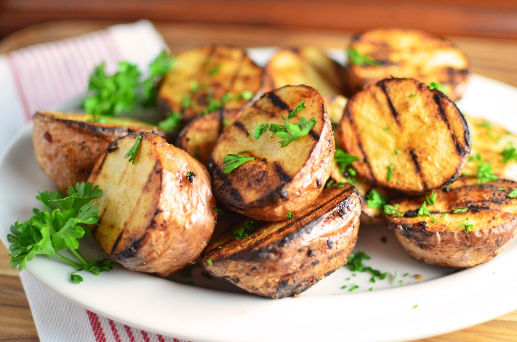 Cajun Grilled Red Potatoes