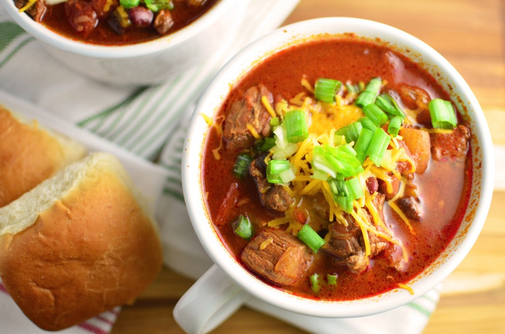 Slow Cooker Beef Chili wide reg