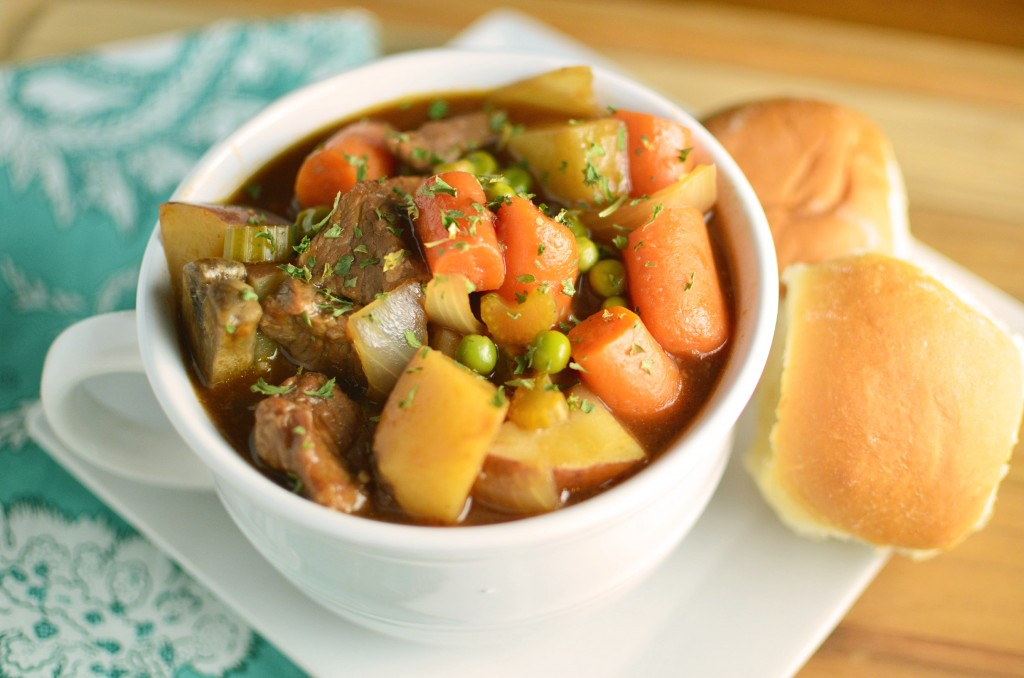 Hearty Slow Cooker Beef Stew 2