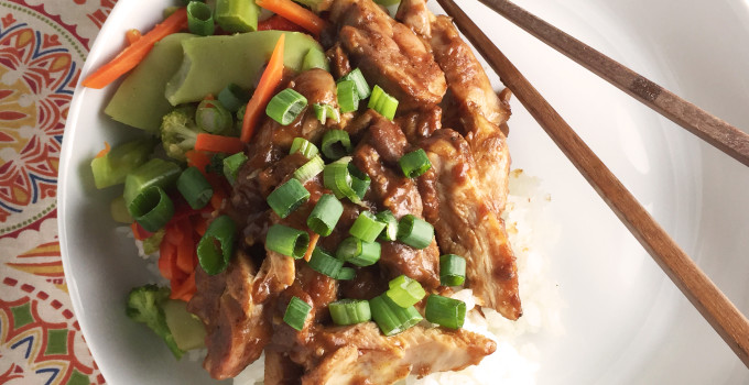 Baked Sweet Chili Chicken