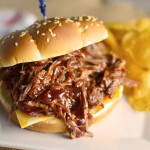 3-Ingredient BBQ Beef Sandwiches
