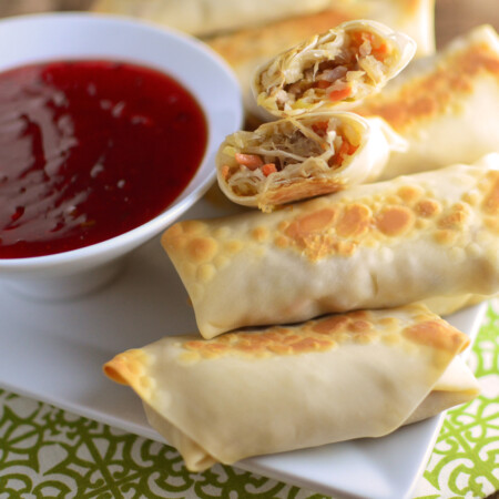 Baked Chicken Eggrolls wide 2