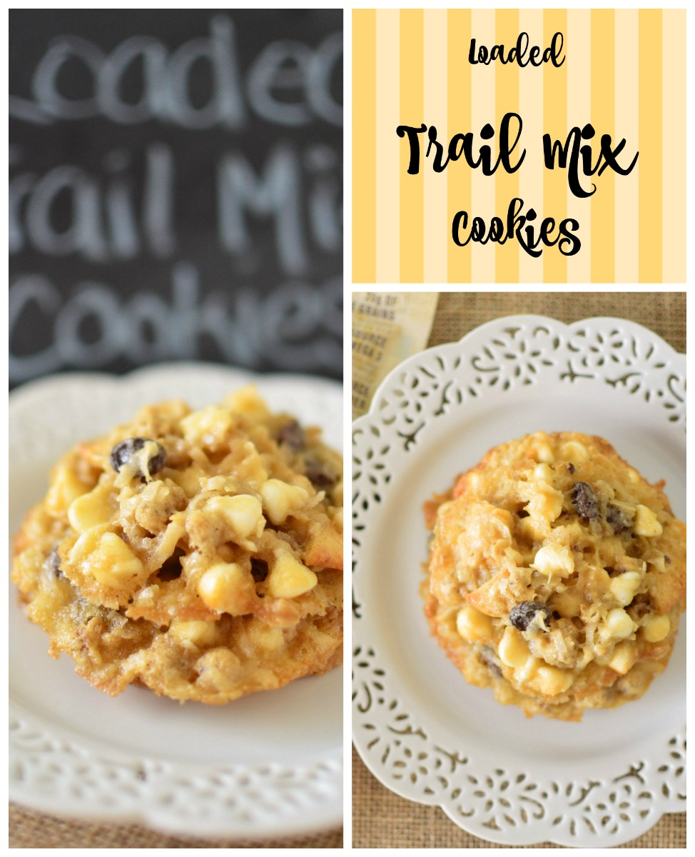 Loaded Trail Mix Cookies pin