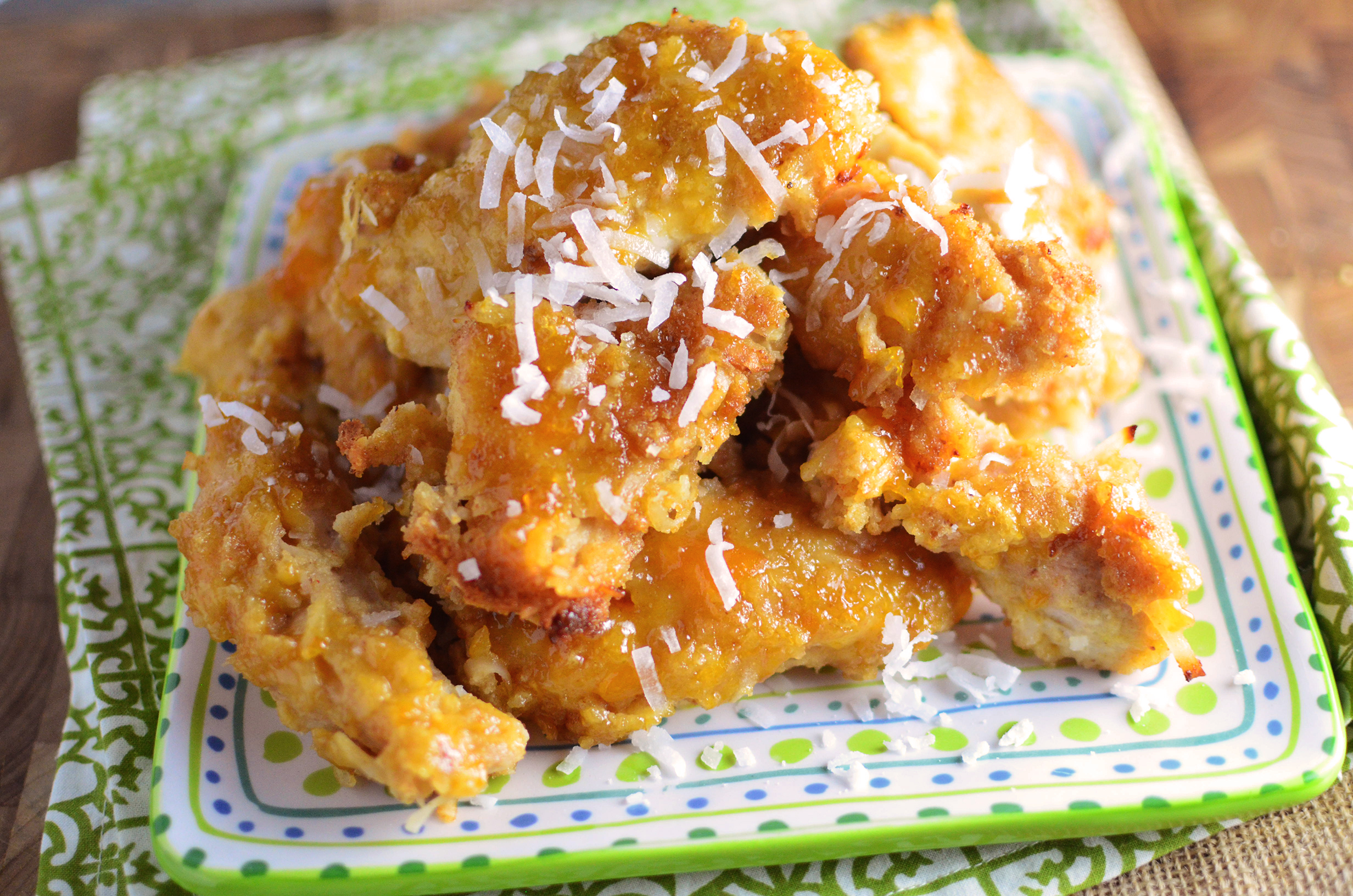 Coconut Apricot Chicken wide