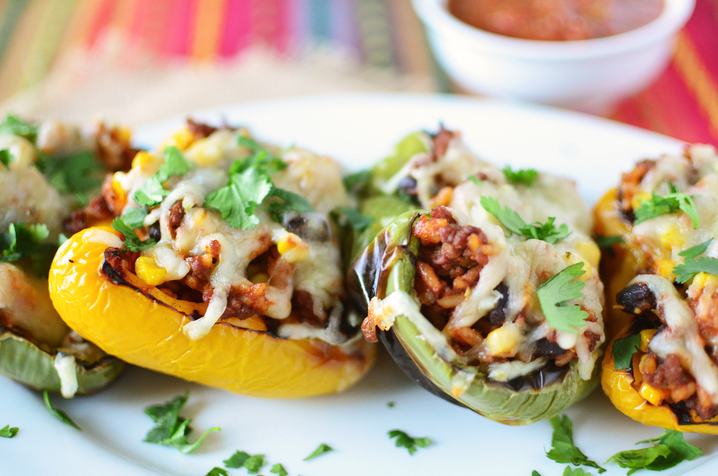 Southwestern Grilled Stuffed Peppers wide