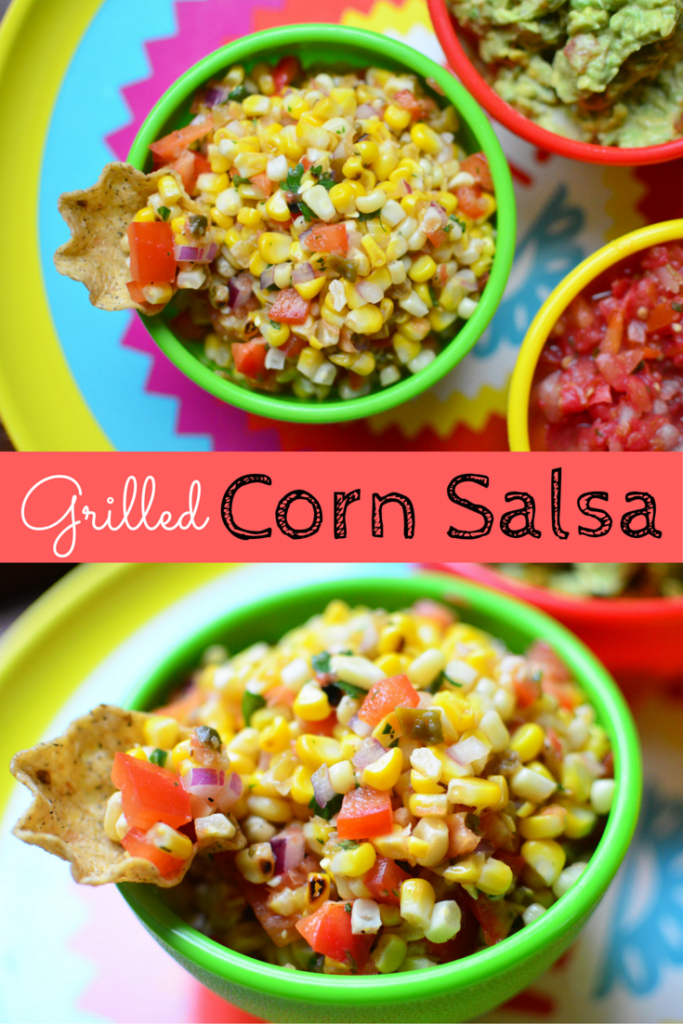 Grilled Corn Salsa pinterest