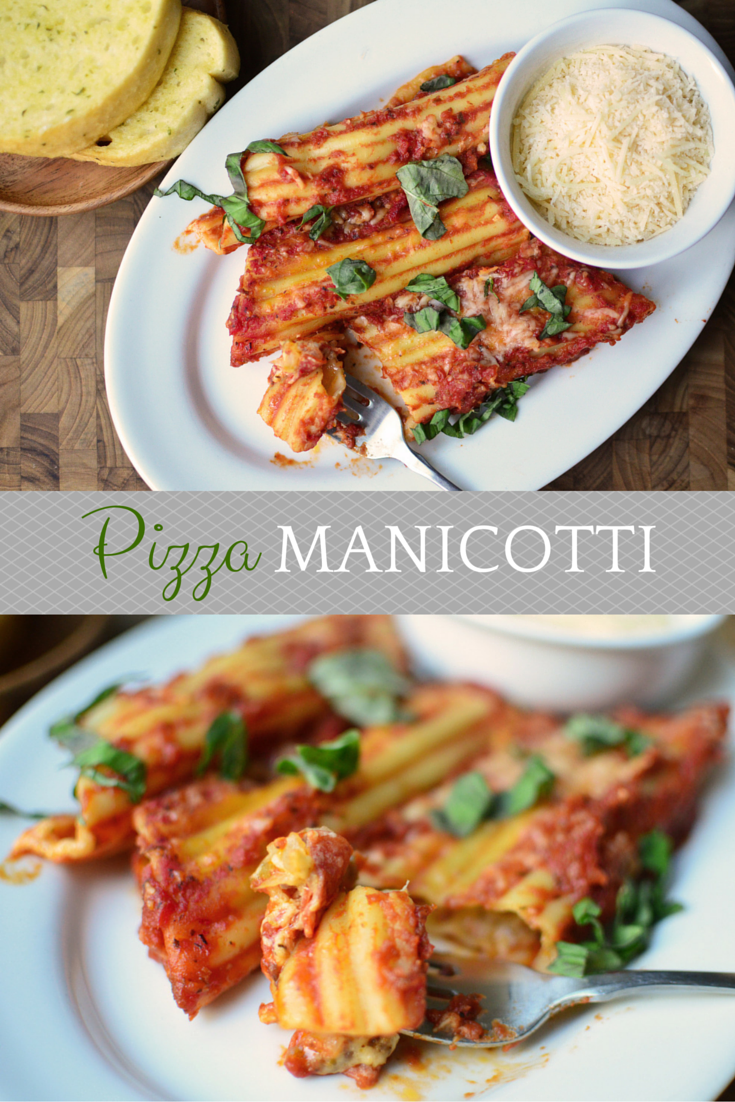 Pizza Manicotti Pinterest