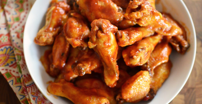 Slow Cooker Sweet and Spicy BBQ Wings