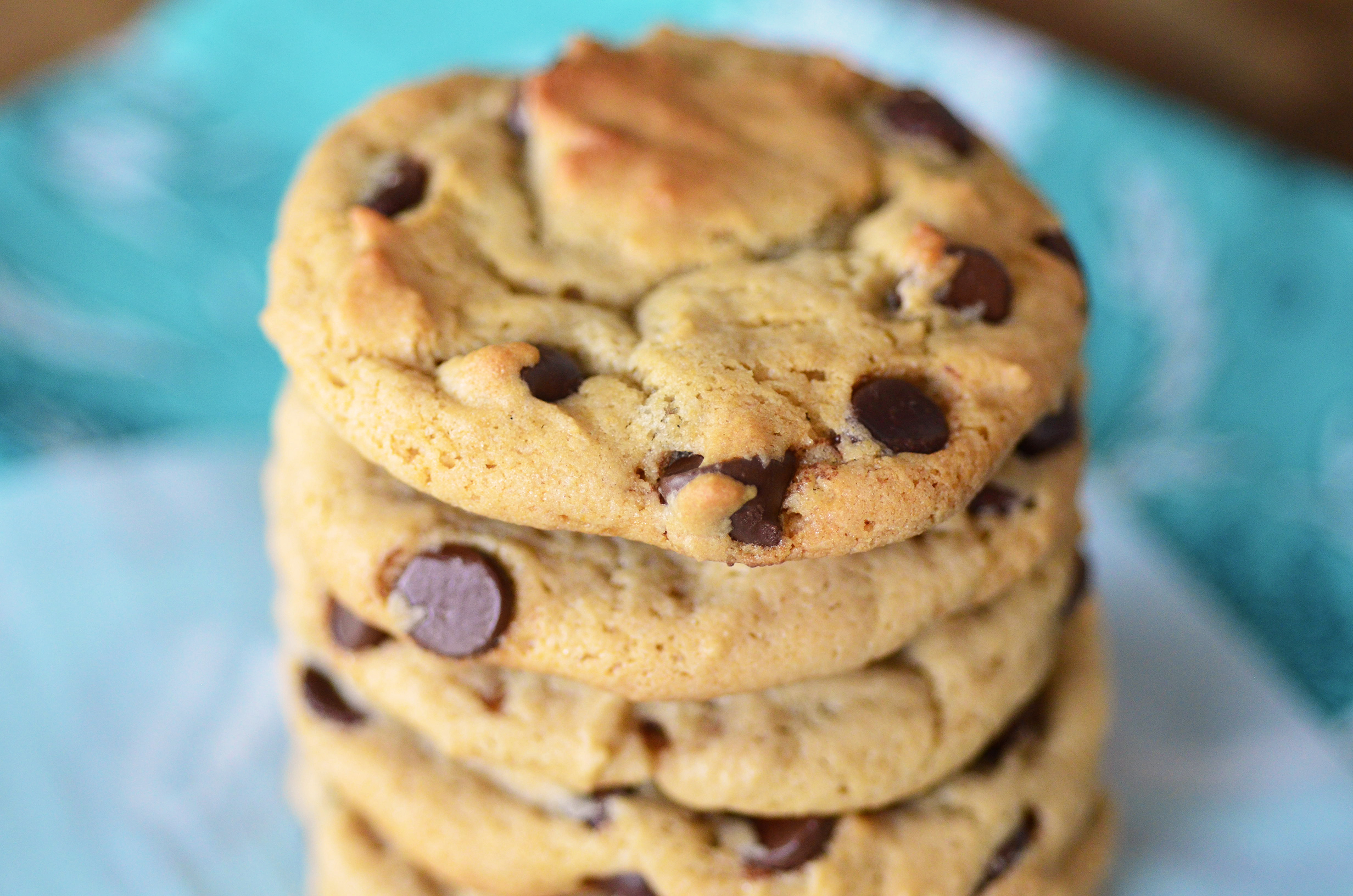 Chewy Peanut Butter Chocolate Chip Cookies - Simple, Sweet & Savory