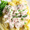 Slow Cooker Creamy Italian Chicken