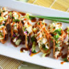 Asian Chicken Wonton Tacos