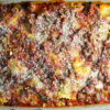 Baked Ravioli with Meat Sauce