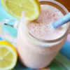 Creamy Frozen Strawberry Lemonade