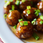 Baked Sweet and Sour Pork Meatballs