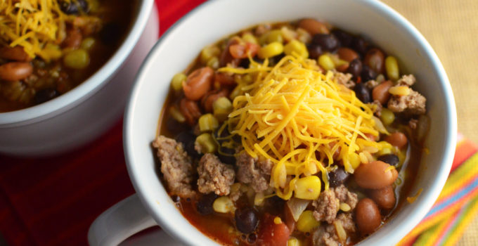 Hearty Southwestern Turkey Chili