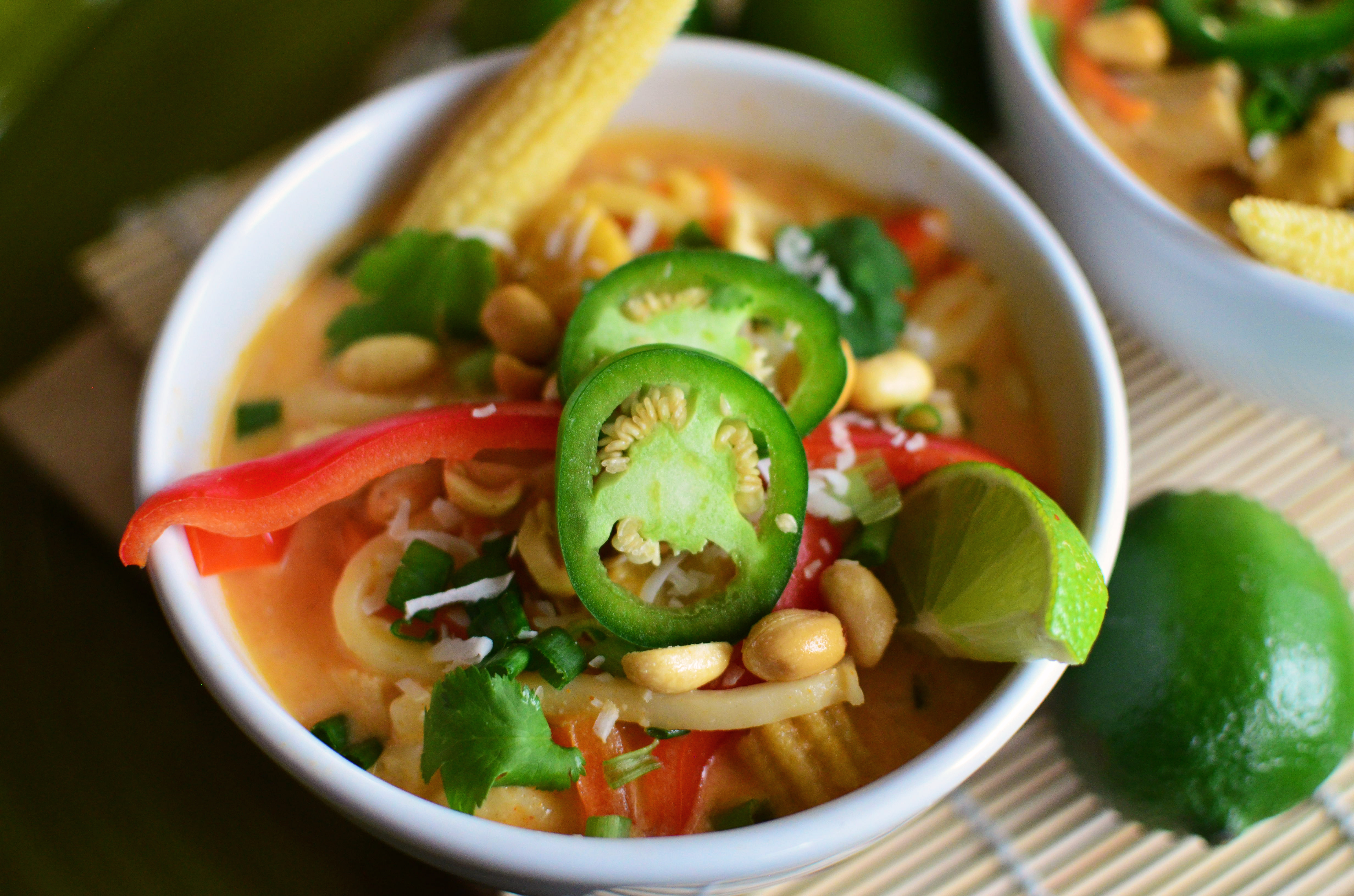Coconut curry chicken noodle soup simple sweet savory you know how chicken noodle soup is the ultimate comfort food satisfying to the tummy and soothing to the soul im a huge fan of chicken noodle soup forumfinder Image collections